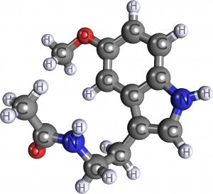 Molekula melatoninu